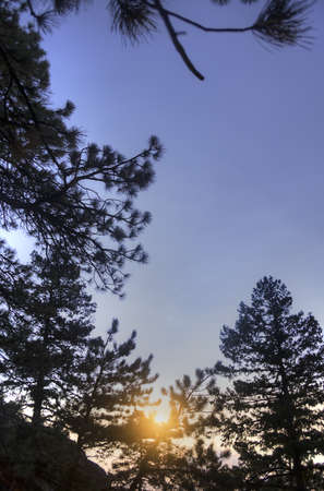 Sunrise in Boulder Stock Photo - 21889506