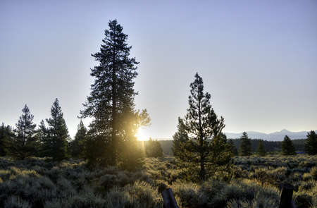 Sunrise in the Colorado Rockies Stock Photo - 21889510