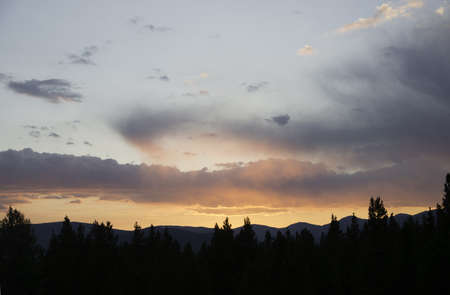 Sunset in the Rockies Stock Photo - 21889514