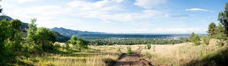 Panorama of Boulder, Colorado Stock Photo - 23308512