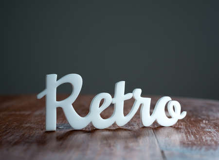 Retro Sign Stock Photo - 23308513