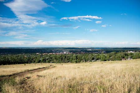 View of Boulder, Colorado Stock Photo - 23308517