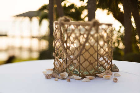 Centerpiece at Wedding