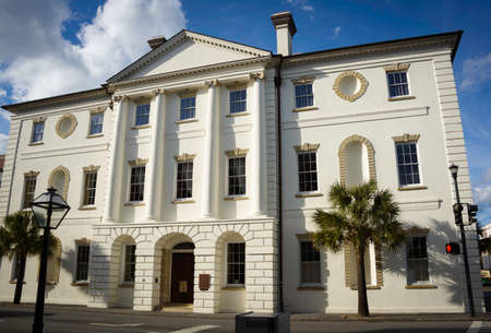 in charleston: Historic Courthouse in Charleston, South Carolina