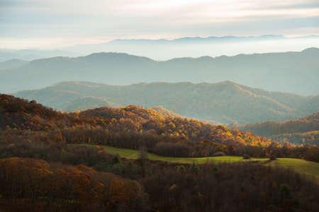 north carolina: Morning in North Carolina