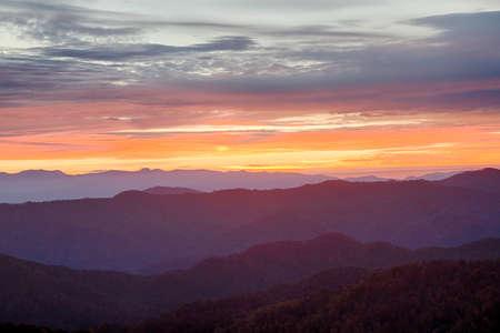 north carolina: Sunrise in North Carolina