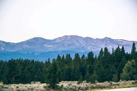 rocky mountains: Morning in the Rocky Mountains Stock Photo