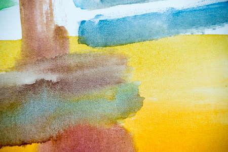 Detail of Watercolor