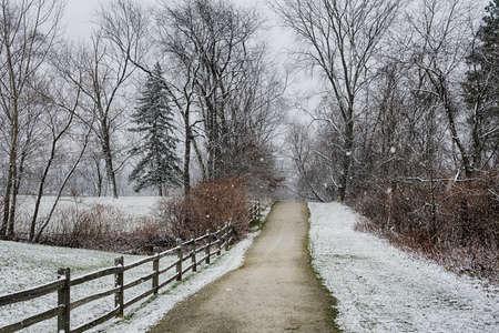 Ohio Landscape in Winter