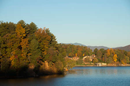 Lake James State Park in the Fall