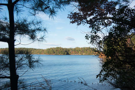 state park: Lake James State Park