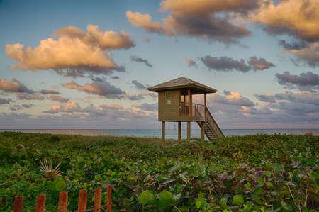 Delray Beach at Sunset
