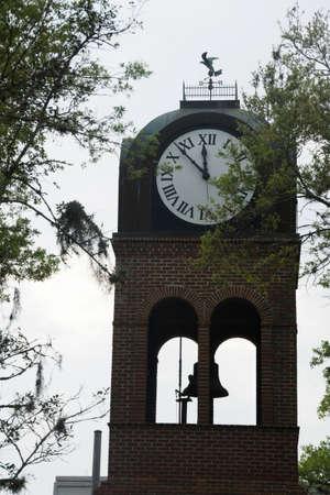 Historic Clock Tower in Gainesville, Florida