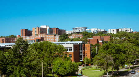 View of the University of Iowa Campus Editorial