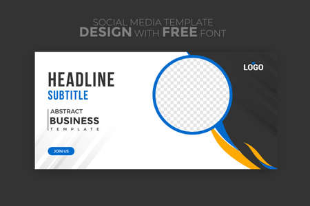 Social media post templates for businesses with geometric pattern design elements and trendy colors. vector illustration