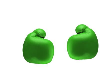 simulator: Green boxing gloves