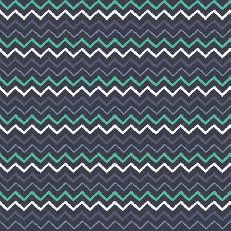 Vector colourful chevrons seamless pattern print background