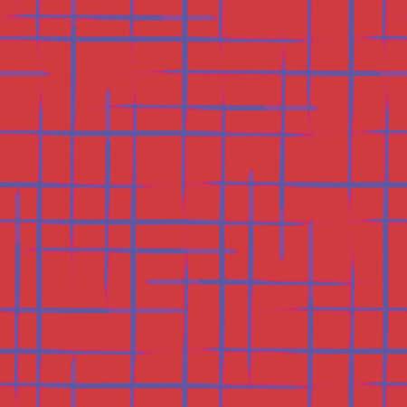 Vector violet stripes red modern seamless pattern