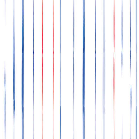 Vector red blue lines striped seamless pattern Stock fotó - 157684912