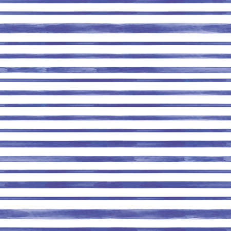 Vector blue lines striped white seamless pattern Stock fotó