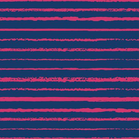 Vector pink blue charcoal stripes seamless pattern Illusztráció