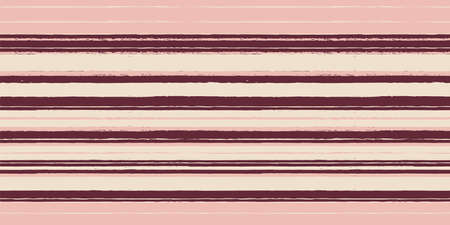 Vector charcoal brown lines pink seamless pattern