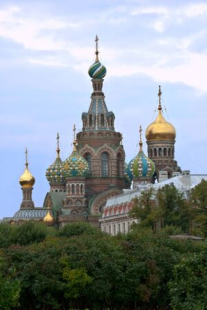 Church of the Savior on blood  Sights Of Saint-Petersburg  Stock Photo