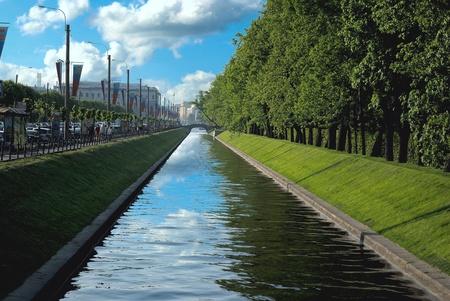 Lebyazhya groove next to the Summer garden in Saint-Petersburg