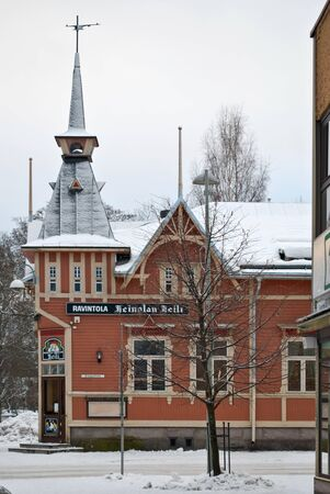 The building of the nineteenth century in the Finnish town of Heinola