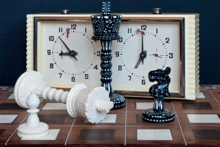 Composition with chess and chess clocks  After the game