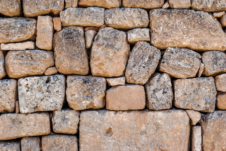 An image of a fragment of the wall of the fortress of the ancient Akrocorinth to be used as a background.