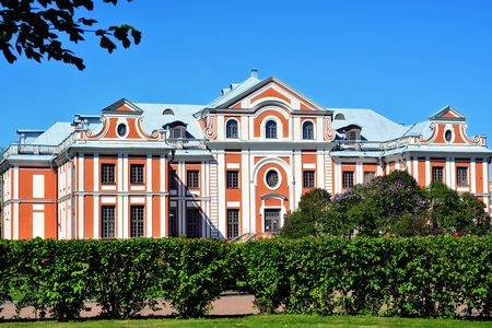 Kikins home - the former home of Admiral Alexander Kikin, associate of Peter 1. Currently, the building houses a music school.