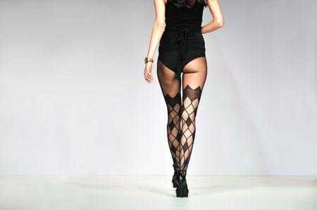 fashion show woman uderwearat fashion show  photo
