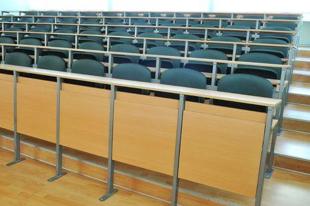 university classroom chair Stock Photo - 5394616