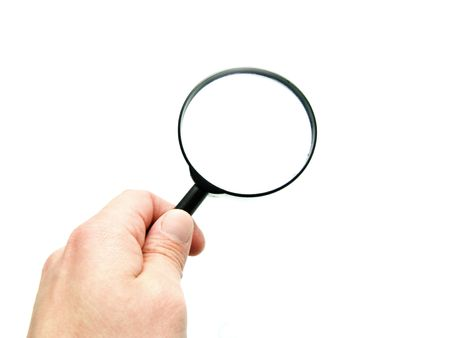 magnifying glass Stock Photo - 5321655