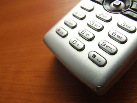 cellphone keypad closeup photo