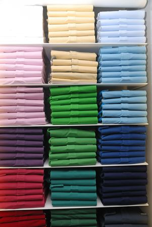 T-shirts in different colors  photo