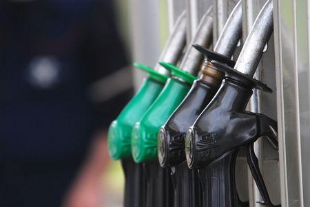 benzine: gas station