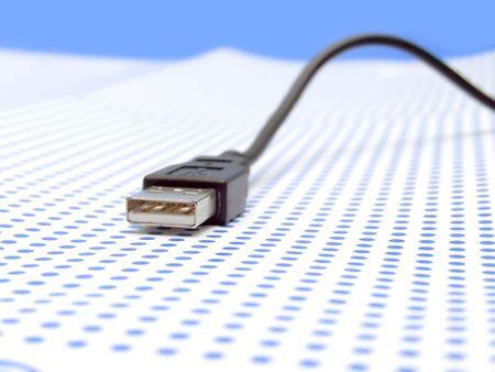 usb cable Stock Photo - 7093340