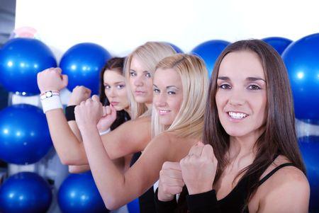 fighter girls photo