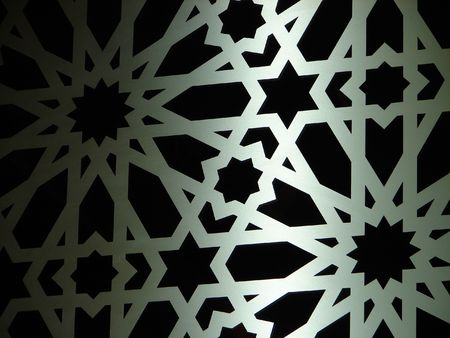 iran mosaic: eastern ornament