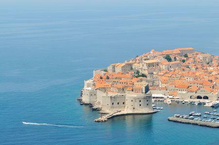turistic: dobrovnik old city in croatia turistic centar and attraction also unesco protectet  Stock Photo