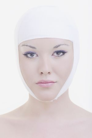 woman skincare and health concept  photo