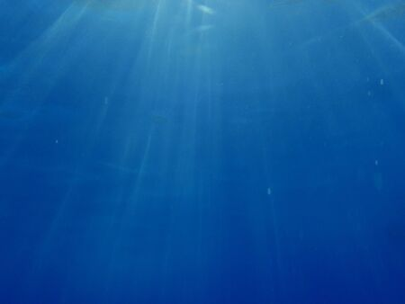 blue underwater background with water air bubbles  Stock Photo - 7564060