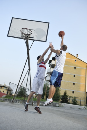hand baskets: basketball player practicing and posing for basketball and sports athlete concept