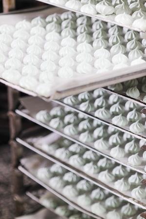 many sweet cake food factory massive production Stock Photo - 8475893