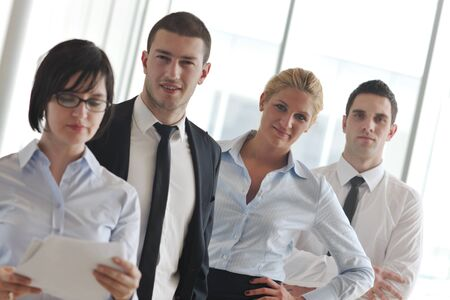 multi ethnic mixed adults  corporate business people team Stock Photo - 9075075