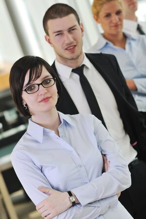 multi ethnic mixed adults  corporate business people team  Stock Photo - 9076490