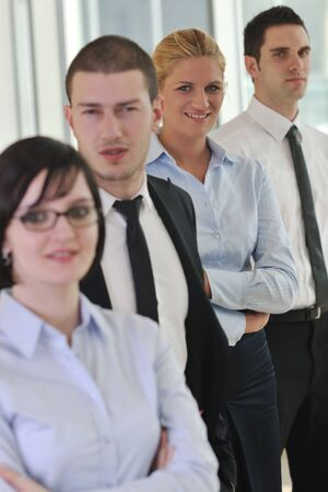 multi ethnic mixed adults  corporate business people team  Stock Photo - 9076317