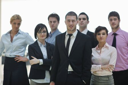 multi ethnic mixed adults  corporate business people team Stock Photo - 9076818